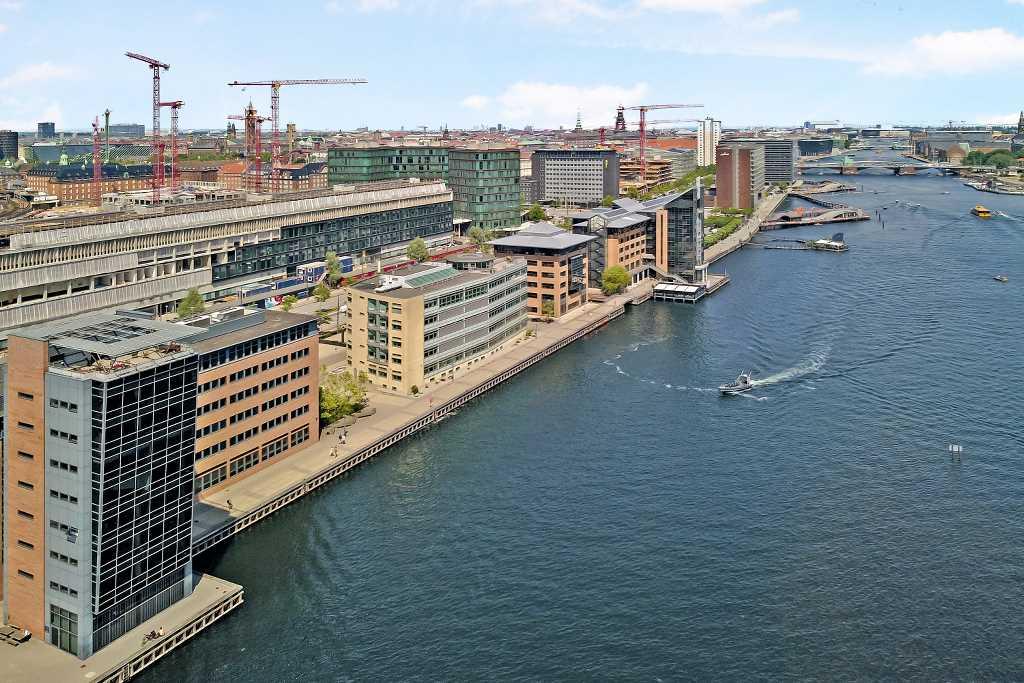 Domicilejendom - 1. række på havnefronten